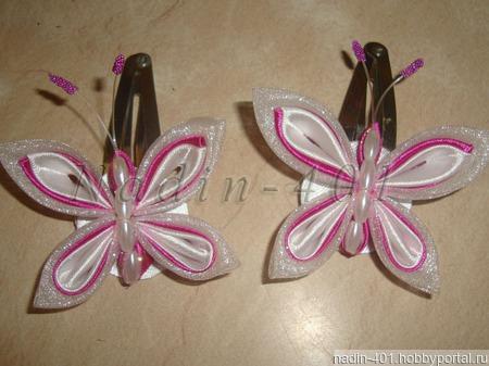 Бабочки, стрекозки, № 13, пара ручной работы на заказ