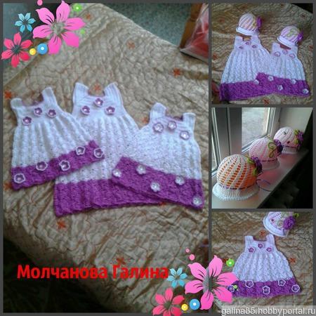 Комплекты для девочек ручной работы на заказ