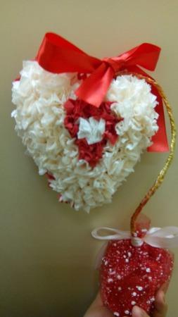 Топиарий сердце ручной работы на заказ