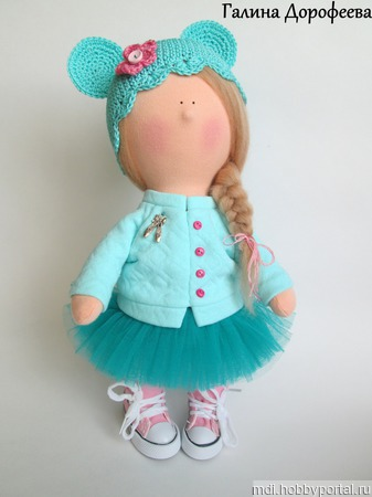 Кукла в стиле Минни ручной работы на заказ