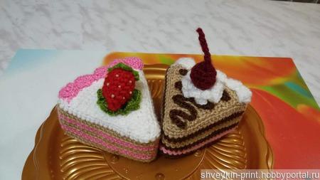 Торт вязаный ручной работы на заказ