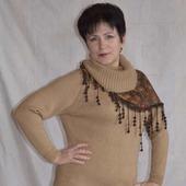 Платье  вязаное  (Sweater dress)