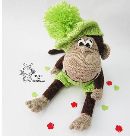 """МК  """"Озорная обезьянка"""" ручной работы на заказ"""