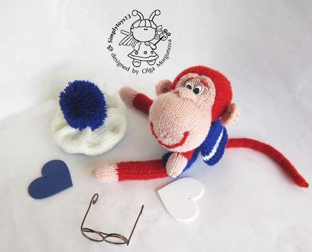"""Мастер-класс """"Маленькая обезьянка - Юнга"""" ручной работы на заказ"""