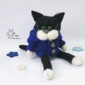 """Мастер - класс """"Кот в пальто"""""""