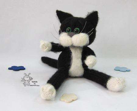 """Мастер - класс """"Кот в пальто"""" ручной работы на заказ"""