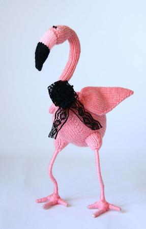 """Мастер-класс """"Розовый Фламинго"""" ручной работы на заказ"""
