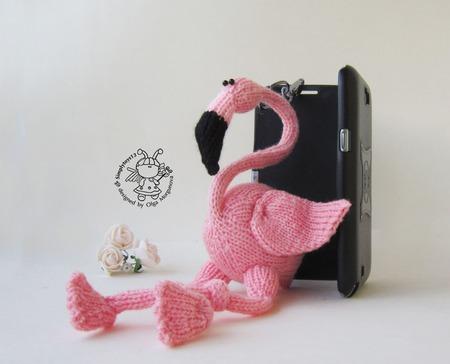 """Мастер-класс """"Брелок Розовый Фламинго"""" ручной работы на заказ"""