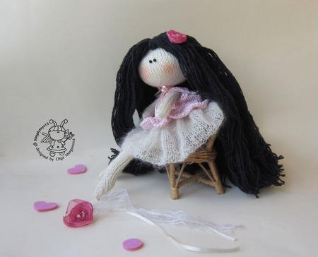 """Мастер-класс """"Кукла в зефирном платье"""" ручной работы на заказ"""