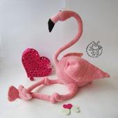 "Мастер-класс ""Большой Розовый Фламинго"""