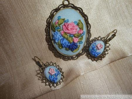 Комплект украшений Рапсодия ручной работы на заказ