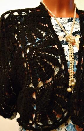 Болеро с веерами ручной работы на заказ