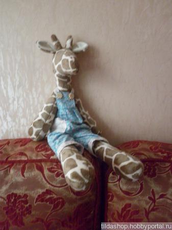 Тильда- жирафик ручной работы на заказ