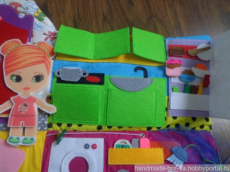 Дом- сумка для кукол ручной работы на заказ