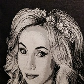Вязаный портрет