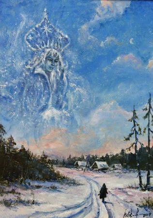 Снежная королева ручной работы на заказ