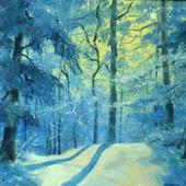 Зимнее утро в лесу