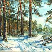 Зима в Серебряном Бору