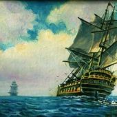 Парусники (серия морских пейзажей)