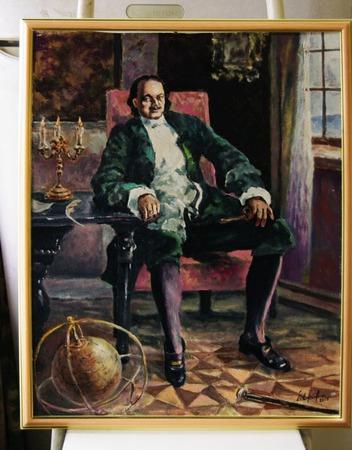 Думы царские. Портрет Петра первого. ручной работы на заказ