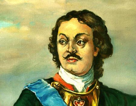 Первый российский император,Пётр первый. ручной работы на заказ