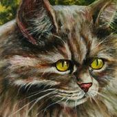 """Картина """"Кот простой необыкновенный"""""""