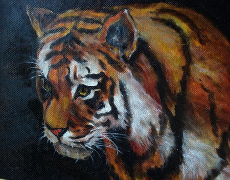 Тигр ручной работы на заказ