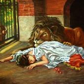 """Копия картины """"Невеста Льва"""" (1908 г)."""
