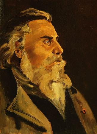 Мужской портрет на заказ по фото ручной работы на заказ