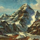 Горный пейзаж. Гималаи.