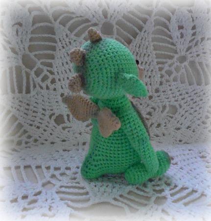 """Дракоша """"Малышок"""". Описание вязания ручной работы на заказ"""