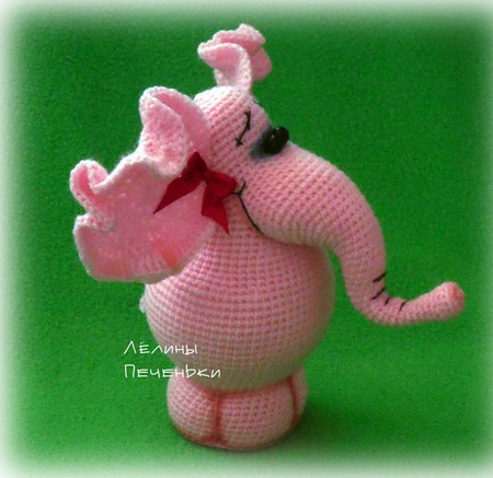 """Мастер-класс """"Слон - денежный талисман"""" (описание вязания) ручной работы на заказ"""