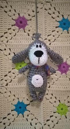 Собачка МиниБаффи. Описание вязания ручной работы на заказ