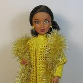 Осенний комплект на куклу Лив