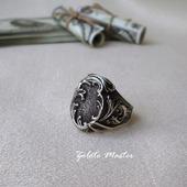 Перстень мужской. Серебро 925 пробы.