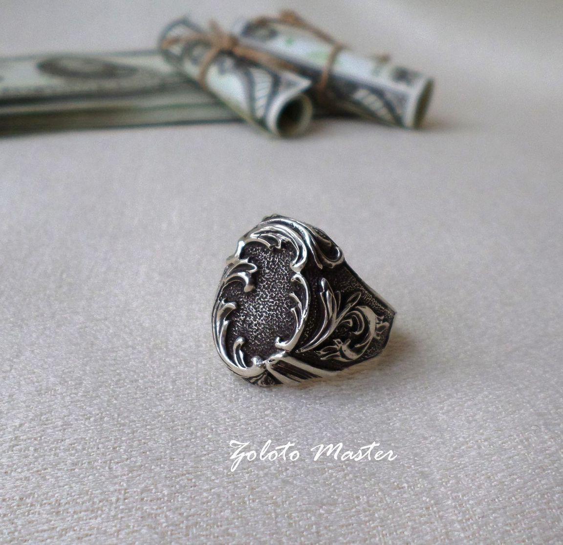 Перстень мужской. Серебро 925 пробы. – купить в интернет-магазине ... cb25bee53eb77