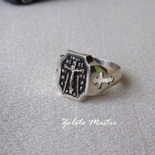 """Кольцо """"спаси и сохрани"""" Серебро 925 пробы."""