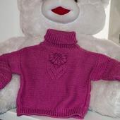 """Детский свитер """"Африканский цветок"""""""