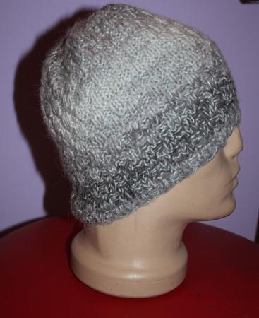 Мужская шапка ручной работы на заказ