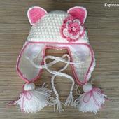 Детская шапочка Кошка