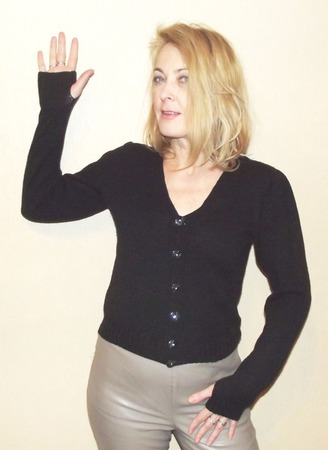 Кофта женская вязаная ручной работы на заказ