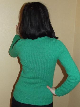 Женская кофточка вязаная ручной работы на заказ