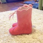 Валяная обувь домашняя детская