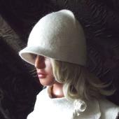 """Валяная шапка """"Зима"""""""