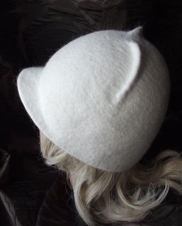 """Валяная шапка """"Зима"""" ручной работы на заказ"""