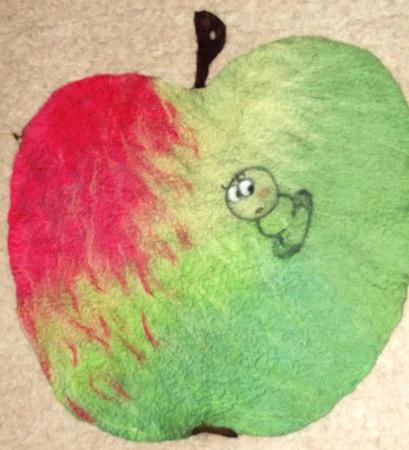 Валяное одеяло детское, плед ручной работы на заказ