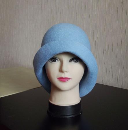 Валяная шапка ручной работы на заказ