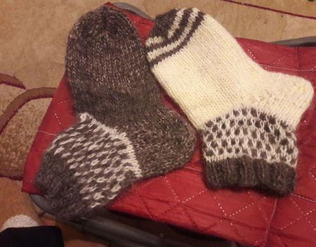 Носочки, следки ручной работы на заказ