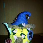 """Грелка на чайник """"Волшебный домик"""""""