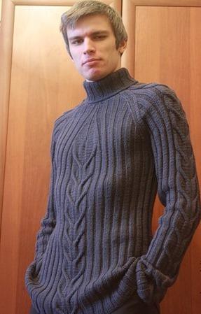 Мужской свитер ручной работы на заказ